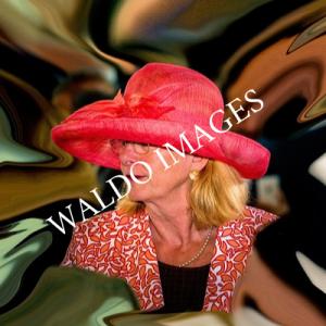 Digitaal kunstwerk van de voormalig burgemeester van Den Haag: Paulien Krikke.